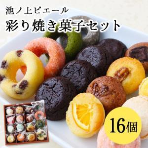 池ノ上ピエール 彩り焼き菓子セット 16個 有名 人気 スイーツ お菓子 ギフト プレゼント|zenzaemon