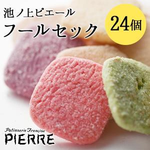 池ノ上ピエール フールセック 24個 クッキー お菓子 ギフト プレゼント|zenzaemon