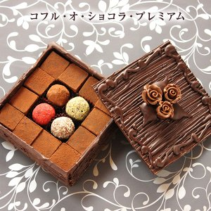 バレンタイン チョコ 池ノ上ピエール コフル・オ・ショコラ・プレミアム トリュフ 生チョコ|zenzaemon