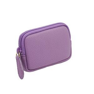 高級 本革 大人 の マルチポーチ 小さなお出かけバッグも すっきり 整理 手のひらサイズ 小物入れ(ピンクローズ)|zeppinchibahonpo