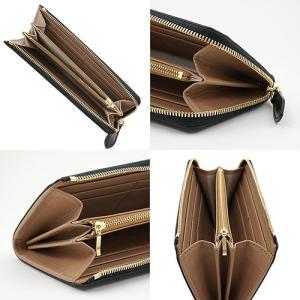 イタリアンカーフ 本革 L字ファスナー型 メンズ 長財布 ブラック|zeppinchibahonpo|03