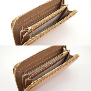 英国 最高級 皮革 ブライドルレザー 経年変化が愉しめる 財布 本革 メンズ ラウンドファスナー 長財布 (ナチュラル) zeppinchibahonpo 05