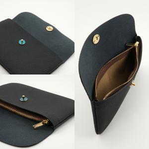 ドイツシュリンク ふっくら 可愛い 長財布 弾力ある革が魅力の カブセ型 本革 レディース 財布 マグネット式(ブラック) zeppinchibahonpo 05