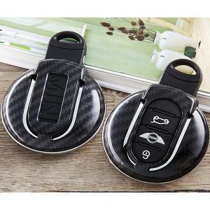 MINI ミニ カーボン スマートキーカバー キーケース F54/F55/F56/F57/F60 R55/R56/R57/R58/R59/R60/R61 zero-com