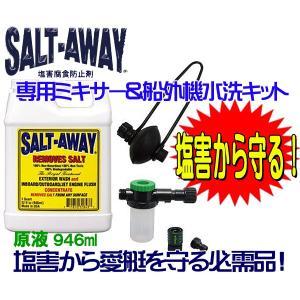 ソルトアウェイ SALT-AWAY アウトドライブパッケージ●ソルト4|zero-com