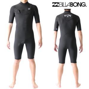 ビラボン ウェットスーツ メンズ スプリング 2mm チェストジップ サーフィンウェットスーツ Billabong Wetsuits|zero1surf