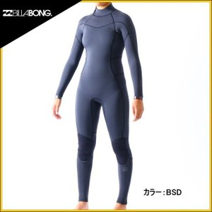 2018年モデル ビラボンウェットスーツ レディース 3×2mm インナーバリアフルスーツ ウエットスーツ|zero1surf
