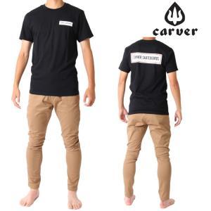 Carver カーバー スケートボード 半袖 Tシャツ CLASSICAL TEE zero1surf