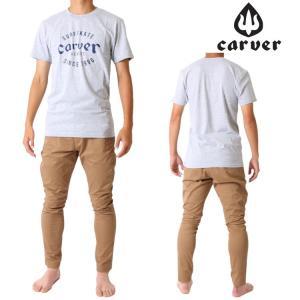 Carver カーバー スケートボード 半袖 Tシャツ VENICE ROOTS TEE zero1surf
