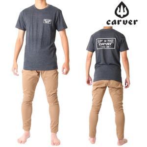 Carver カーバー スケートボード 半袖 Tシャツ STANDARD ISSUE TEE zero1surf