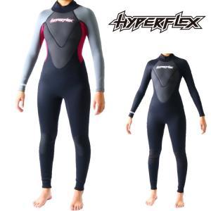 ハイパーフレックス ウェットスーツ レディース 3×2mmフルスーツ ウエットスーツ サーフィンウェットスーツ Hyperflex Wetsuits|zero1surf