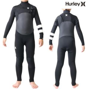 Hurley(ハーレー) ウェットスーツ キッズ 子供用 3×2mm チェストジップ フルスーツ ウエットスーツ サーフィンウェットスーツ Hurley Wetsuits|zero1surf
