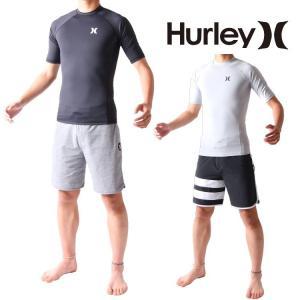 Hurley(ハーレー) ラッシュガード メンズ 半袖 ラッシュガード プロライトトップモデル 男性用ラッシュガード Hurley Rashguard|zero1surf