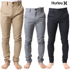Hurley(ハーレー) メンズ ストレッチ チノパンツ / チノパン レギュラーフィット ワン アンド オンリー ストレッチ チノパンツ|zero1surf