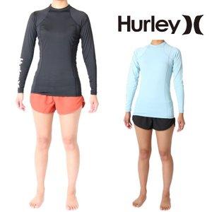 Hurley(ハーレー) ラッシュガード レディース 長袖ラッシュガード One And Onlyモデル 女性用ラッシュガード Hurley Rashguard|zero1surf