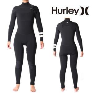 Hurley(ハーレー) ウェットスーツ レディース チェストジップ 5×3mm フルスーツ ウエットスーツ サーフィンウェットスーツ HurleyWetsuits|zero1surf