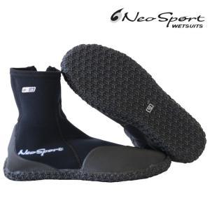 ネオスポーツ ウェットスーツ 男女兼用 ダイビング ブーツ 3mm ハイトップ ジッパー ブーツ ダイビングウェットスーツ Diving Wetsuits zero1surf