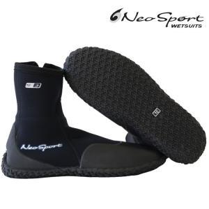 ネオスポーツ ウェットスーツ 男女兼用 ダイビング ブーツ 5mm ハイトップ ジッパー ブーツ ダイビングウェットスーツ Diving Wetsuits zero1surf