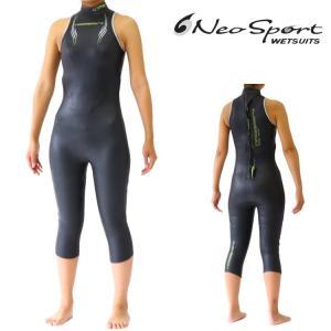 ネオスポーツ ウェットスーツ レディース 5×3mm スプリント ロングジョン ウエットスーツ トライアスロン ウェットスーツ Triathlon Wetsuits|zero1surf