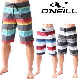 オニール サーフパンツ メンズ ボードショーツ SANTA CRUZ STRIPE モデル 男性用ボードショーツ O'neill Boardshorts|zero1surf