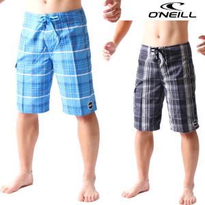 オニール サーフパンツ メンズ ボードショーツ SANTA CRUZ PLAID モデル 男性用ボードショーツ O'neill Boardshorts|zero1surf
