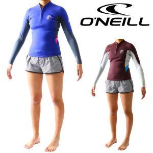 オニール ウェットスーツ レディース 長袖タッパー タッパ フロントハーフジップ サーフィンウェットスーツ O'neill Wetsuits|zero1surf