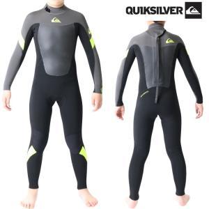 クイックシルバー ウェットスーツ キッズ 子供用 3×2mm インナーバリア フルスーツ ウエットスーツ サーフィンウェットスーツ Quiksilver Wetsuits|zero1surf