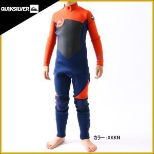 クイックシルバー ウェットスーツ 子供用 3×2mm フルスーツ ウエットスーツ|zero1surf