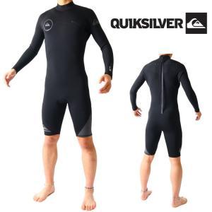 クイックシルバー ウェットスーツ メンズ 長袖 スプリング ウエットスーツ サーフィンウェットスーツ Quiksilver Wetsuits|zero1surf