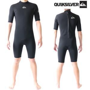 クイックシルバー ウェットスーツ メンズ スプリング 2mm バックジップ ウエットスーツ サーフィンウェットスーツ Quiksilver Wetsuits|zero1surf