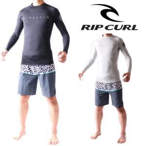 RIP CURL リップカール ラッシュガード メンズ 長袖 ラッシュガード DAWN PATROL(ダウンパトロール)モデル|zero1surf