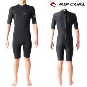 リップカール ウェットスーツ メンズ スプリング 2mm バックジップ サーフィンウェットスーツ|zero1surf