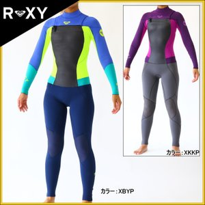 ロキシー ウェットスーツ レディース 3×2mm チェストジップ フルスーツ ウエットスーツ|zero1surf