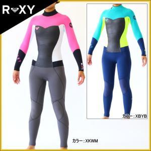 ロキシー ウェットスーツ レディース 4×3mm インナーバリアフルスーツ ウエットスーツ|zero1surf