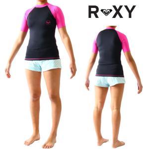 ロキシー ラッシュガード レディース 半袖 ラッシュガード SEA BOUND(シーバウンド)モデル 女性用ラッシュガード Roxy Rashguard|zero1surf