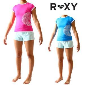 ロキシー ラッシュガード レディース 半袖ラッシュガード SUNSET(サンセット)モデル 女性用ラッシュガード Roxy Rashguard|zero1surf