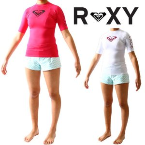 ロキシー ラッシュガード レディース 半袖 ラッシュガード Hearted(ハーテッド)モデル 女性用ラッシュガード Roxy Rashguard zero1surf