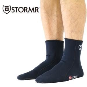 STORMR ストーマー フィッシング ソックス メンズ ヘビーウエイトネオプレンソックス|zero1surf