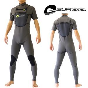 スプリーム  SUP用ウェットスーツ メンズ チェストジップシーガル ウエットスーツ|zero1surf