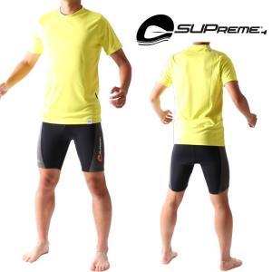 スプリーム メンズ SUP用 半袖ラッシュガード|zero1surf