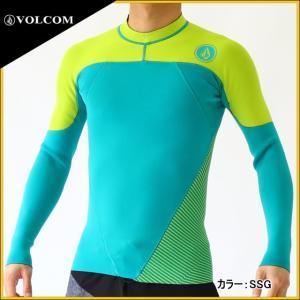 ボルコム ウェットスーツ メンズ 長袖タッパー|zero1surf