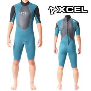 エクセル ウェットスーツ メンズ スプリング ウエットスーツ サーフィンウエットスーツ Xcel Wetsuits|zero1surf