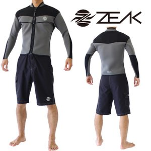ZEAK WETSUITS ジークウェットスーツ タフライン メンズ 長袖ジャケット ウエットスーツ|zero1surf