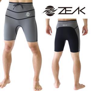 【モデルチェンジのためSALE】ZEAK(ジーク) ウェットスーツ タフライン メンズ ショートパンツ ウェットパンツ ZEAK WETSUITS|zero1surf