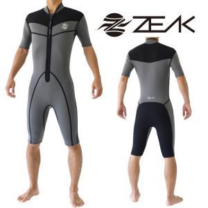 ブランド:ZEAK(ジーク) モデル:タフラインウェットスーツ タイプ:男性用スプリング 生地厚:3...