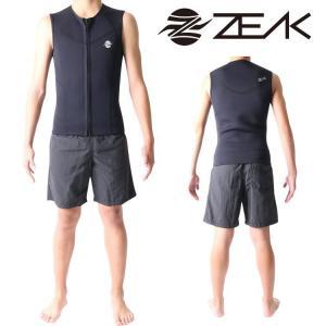 ZEAK WETSUITS ジークウェットスーツ サーフライン メンズ ベスト ウエットスーツ|zero1surf