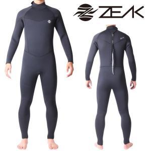 ZEAK SPORTS ジークスポーツ サーフライン ウェットスーツ メンズ 5mm フルスーツ ウエットスーツ