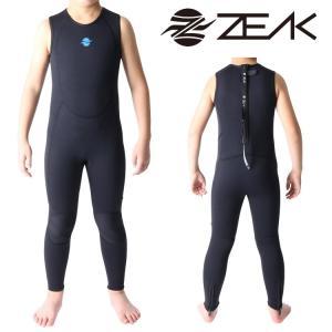 ZEAK WETSUITS ジークウェットスーツ サーフライン キッズ ロングジョン ウエットスーツ|zero1surf