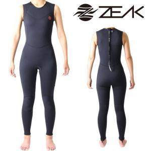 ZEAK WETSUITS ジークウェットスーツ サーフライン レディース ロングジョン ウエットスーツ|zero1surf