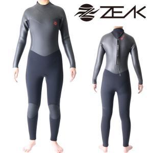 ZEAK(ジーク) ウェットスーツ レディース セミドライスーツ (5×3mm) ウエットスーツ サーフィン ウェットスーツ ZEAK WETSUITS zero1surf